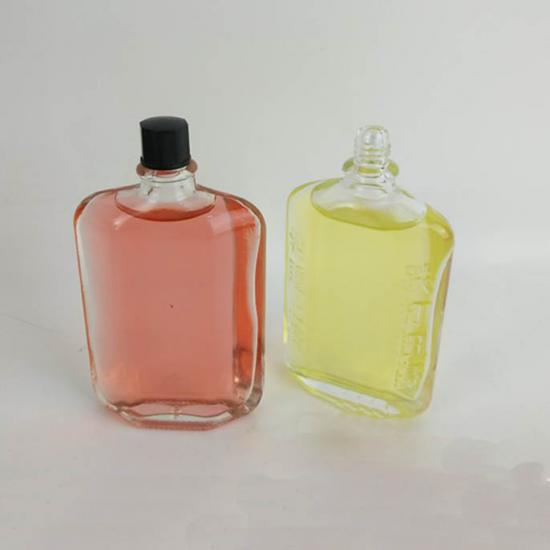 medicine oil glass bottles